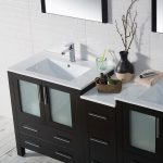 Sydney Modern 72″ Double Bathroom Vanity Set with Mirrors Espresso