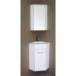 "Florence 16"" Bathroom Vanity Set with Medicine Cabinet"