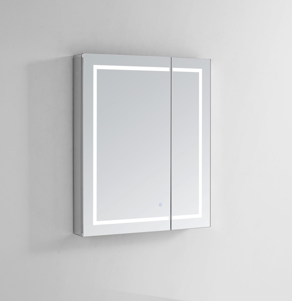 AQUADOM Royale Plus 36 inches x 30 inches LED Lighted Mirror Glass Medicine Cabinet for Bathroom
