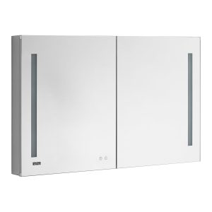 AQUADOM Signature Royale 48 inches x 30 inches LED Lighted Mirror Glass Medicine Cabinet for Bathroom