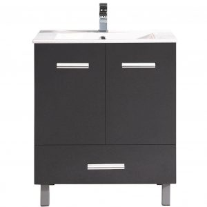 "Atwood 36"" Modern Bathroom Vanity  Black"