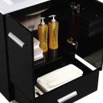 Atwood 36″ Modern Bathroom Vanity  Black