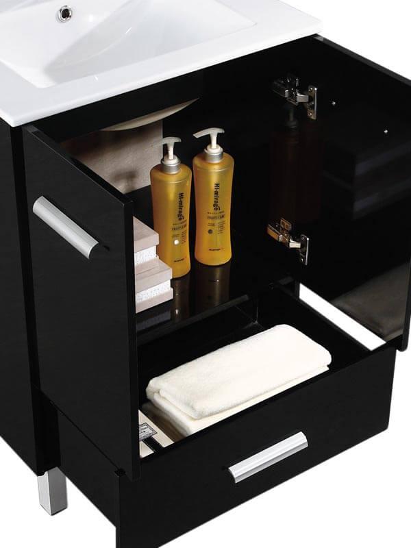 """Atwood 36"""" Modern Bathroom Vanity  Black"""