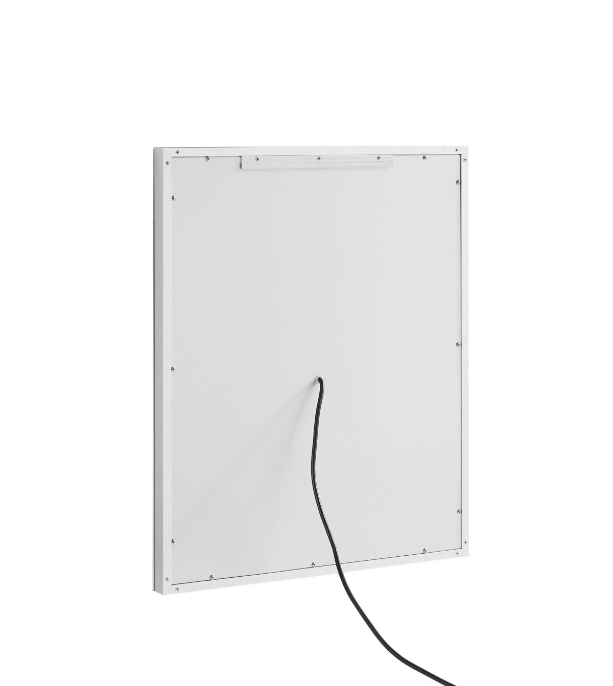AQUADOM Daytona 36 inches x 30 inches Wall Mounted LED Lighted Silver Mirror for Bathroom