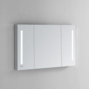 AQUADOM Signature Royale 40 inches x 30 inches LED Lighted Mirror Glass Medicine Cabinet for Bathroom