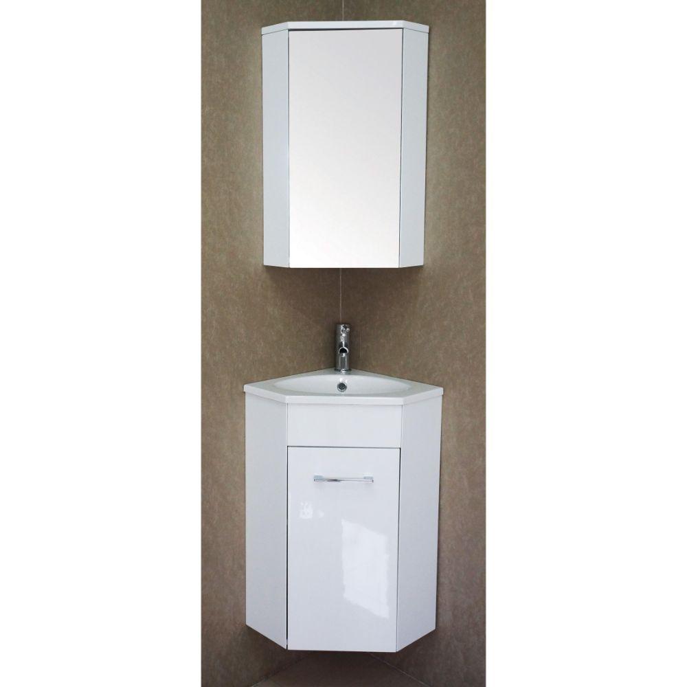 "Florence 16"" Bathroom Vanity Set with Medicine Cabinet"