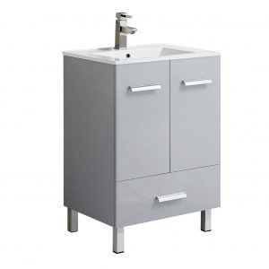 "Atwood 24""  Modern Bathroom Vanity, Gray"