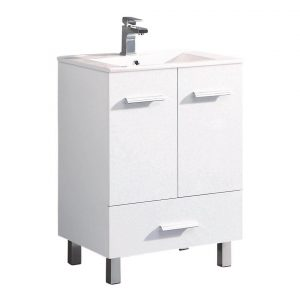 "Atwood 24"" Modern Bathroom Vanity,White"