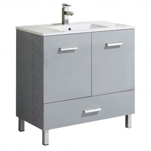 "Atwood 36"" Modern Bathroom Vanity  Gray"