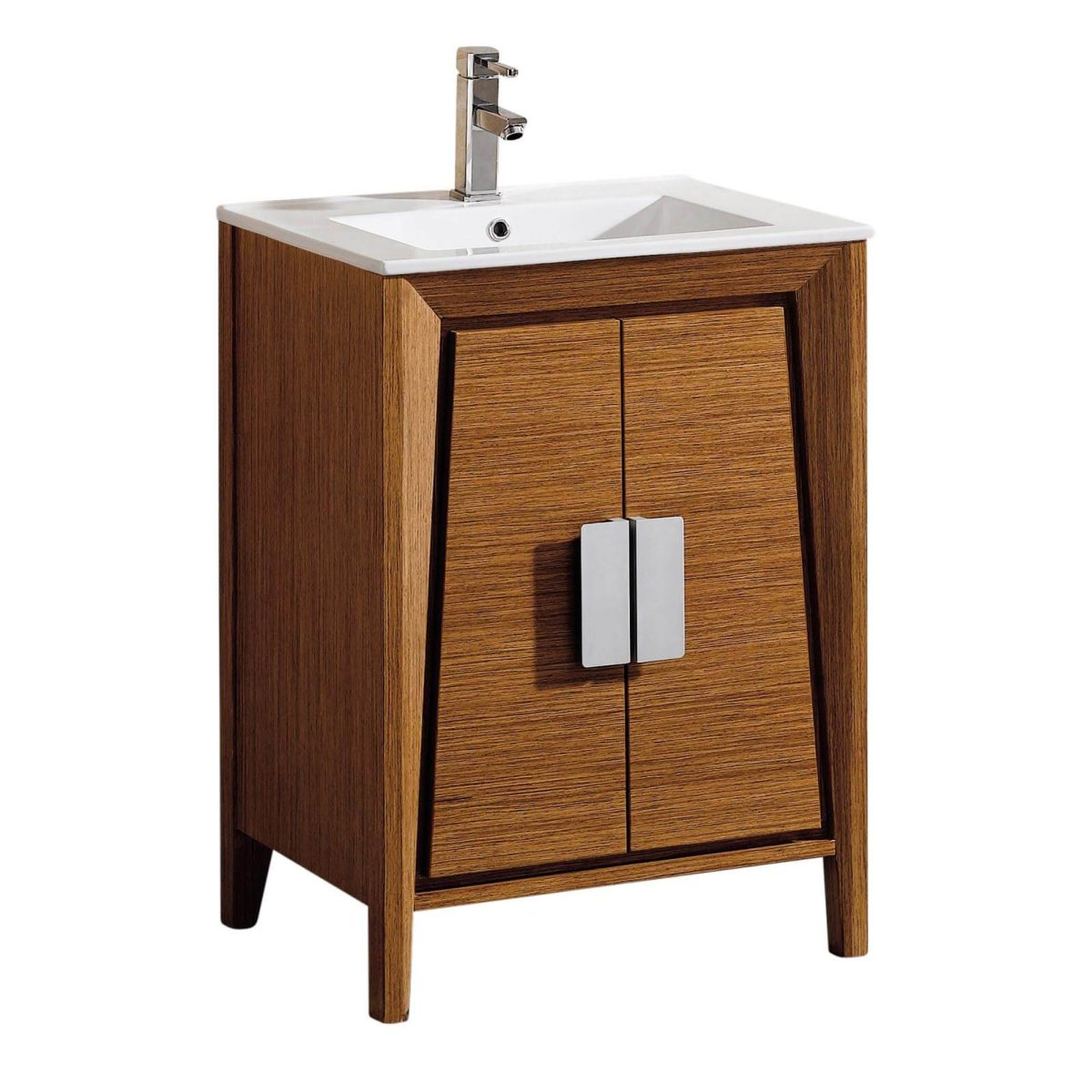 """Imperial II 24"""" Modern Bathroom Vanity  Wheat"""