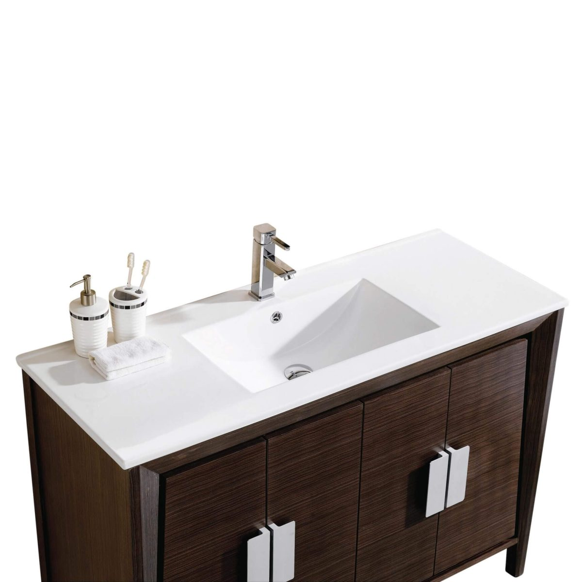 "Imperial II 48"" Modern Bathroom Vanity  Ebony"