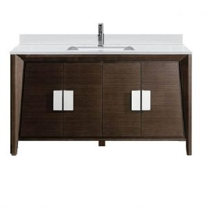 """Imperial II Modern Bathroom Vanity 60""""  Ebony"""