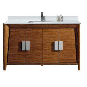 """Imperial II Modern Bathroom Vanity 60""""  Wheat"""