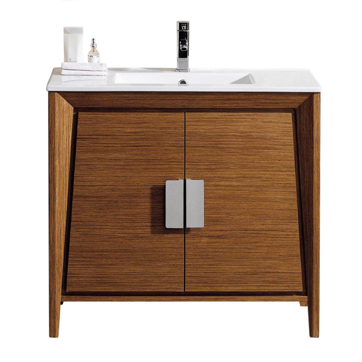 """Imperial II 36"""" Modern Bathroom Vanity  Wheat"""