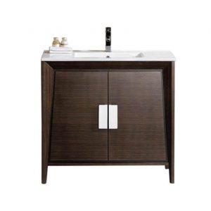 """Imperial II 36"""" Modern Bathroom Vanity  Ebony"""