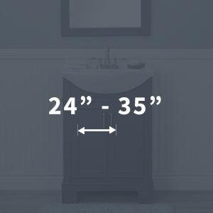 "24"" - 35"""