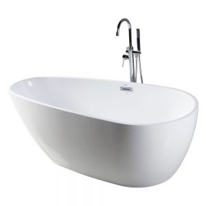 Capsule-55-Freestanding-White-Bathtub-BT255