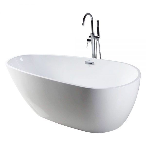 Capsule-55-Freestanding-White-Bathtub-BT255