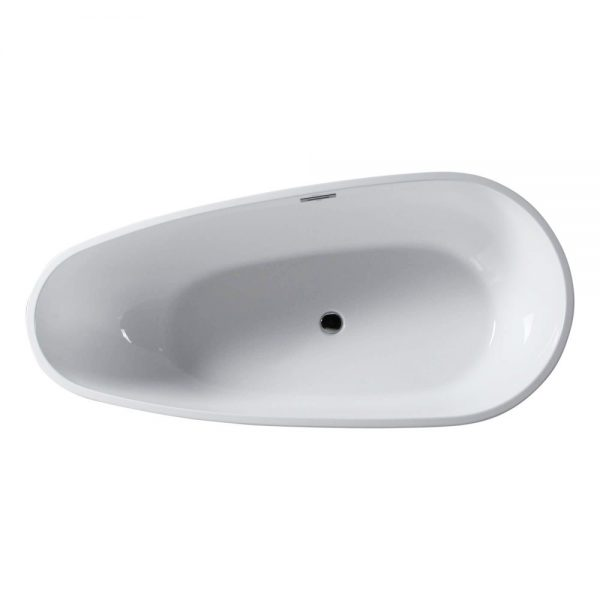 Capsule-55-Freestanding-White-Bathtub-BT255-1