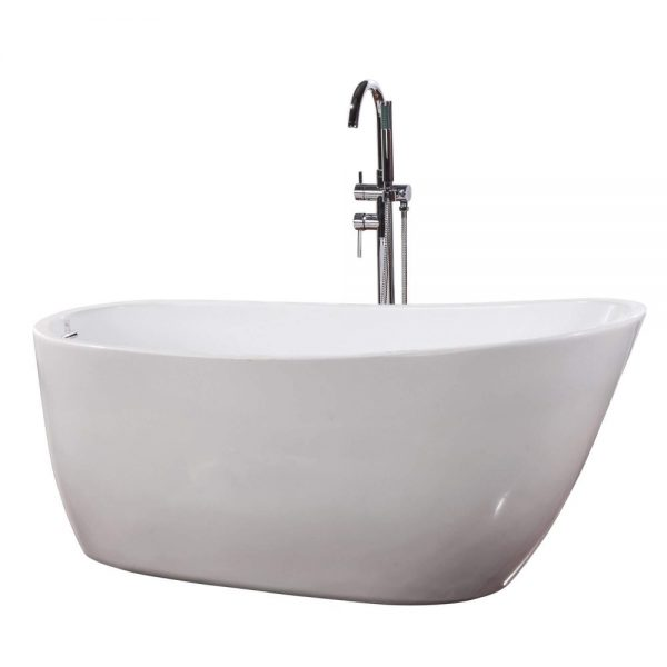 Zen-59-Freestanding-White-Bathtub-BT307